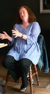 Editor Susan Opie giving insights into the publishing process