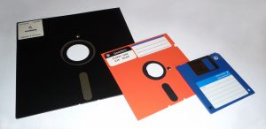 Floppy Discs - neither round nor floppy...