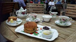 Cream Tea arrives