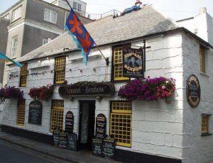 Admiral Benbow pub, Penzance,